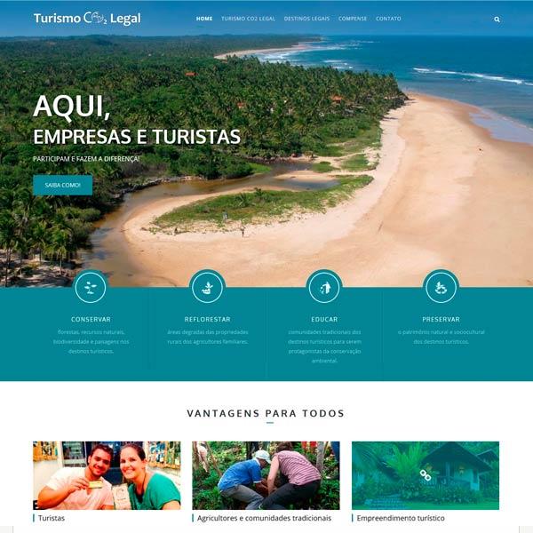 Turismo CO2 Legal - Península de Maraú